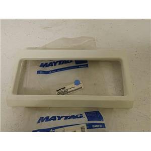 MAYTAG WHIRLPOOL REFRIGERATOR 67002442 CRISPER PAN FRAME NEW
