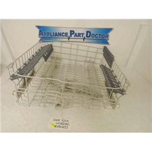 GENERAL ELECTRIC DISHWASHER WD28X10411 WD28X10137 UPPER RACK USED