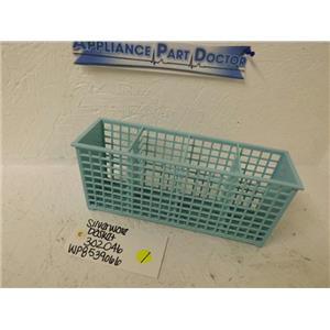 MAYTAG WHIRLPOOL DISHWASHER 302046 WP8539066 SILVERWARE BASKET USED