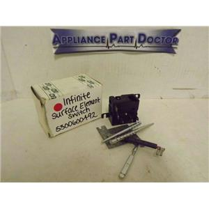 FRIGIDAIRE WESTINGHOUSE STOVE 5300600492 INFINITE SURFACE ELEMENT SWITCH NEW