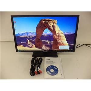 "SAMSUNG S24E450D Black 24"" 5ms Widescreen LCD Monitor"