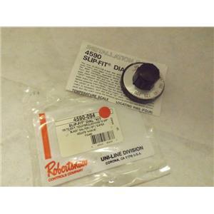 ROBERTSHAW NON-OEM STOVE 4590-094 SLIP FIT DIAL KIT NEW