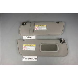 1998-2011 Ford Ranger Mazda B4000 Sun Visor Set with Passenger Mirror