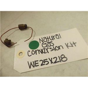 GENERAL ELECTRIC DRYER WE25X218 NATURAL GAS CONVERSION KIT NEW