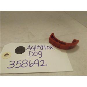 MAYTAG WHIRLPOOL WASHER 358692 AGITATOR DOG  NEW