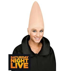 SNL Latex Conehead Cone Bald Head Cap Headpiece