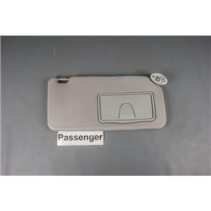 Suzuki SX4 Passenger Side Sun Visor 2007-2012 with Covered Mirror