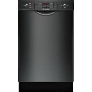 """Bosch 300 Serie 18"""" 4 Wash Cycles 46 dBA Full Console BLK Dishwasher SPE53U56UC"""