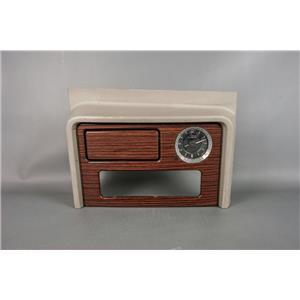 03-06 GMC Yukon Cadillac Escalade Dash Trim Bezel for CD Player Clock Storage