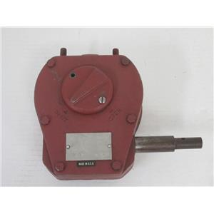 """The Mastergear Company M V(""""5"""") Cast Iron 1/4 Turn Gearbox for Manual Operation"""
