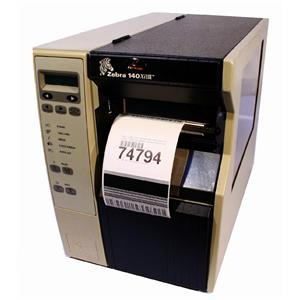 Zebra 140Xi-III Thermal Barcode Label Printer 140-131-00000 Network Parallel