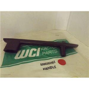 WCI STOVE 5303203983 OVEN HANDLE NEW