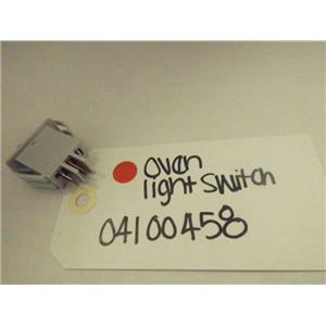 MAYTAG WHIRLPOOL STOVE 04100458 OVEN LIGHT SWITCH NEW