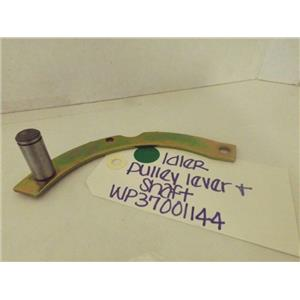 MAYTAG WHIRLPOOL DRYER WP37001144 IDLER PULLEY LEVER & SHAFT NEW