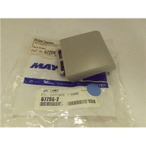 MAYTAG WHIRLPOOL REFRIGERATOR 67208-2 SHELF END CAP NEW