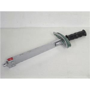Tohnichi 500CF Interchangeable Head Beam Type Torque Wrench w/Scale Plate