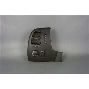 2007-13 Silverado Sierra Vent Dash Trim Bezel Vent Light Trip Controls