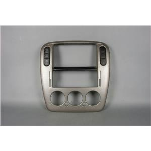 2002-2005 Explorer Mountaineer Radio Dash Bezel for 4WD & Manual Climate