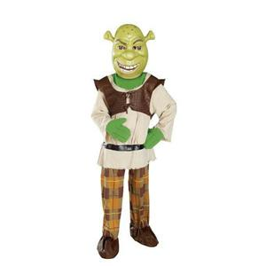 Rubie's Boy's Deluxe Shrek Child Costume and Mask Size Medium 8-10