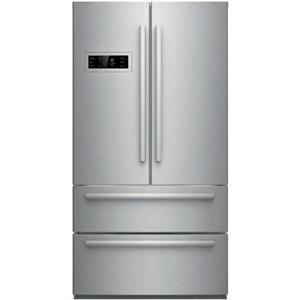 """Bosch 800 Series 36"""" 4-Door French Door Refrigerator SS Perfect B21CL80SNS"""