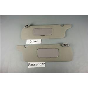 2004 Ford Mustang Sun Visor Set w/ Covered Mirrors
