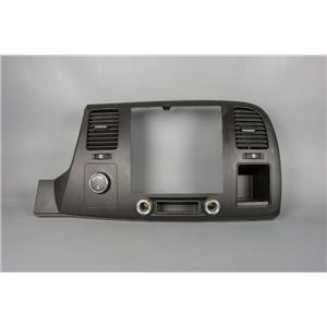 2007-2013 Silverado Sierra 1500 Radio Climate Combo Trim Bezel with 4WD Switch