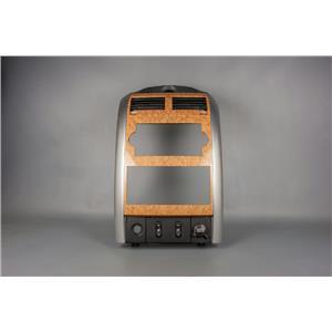 2007-2009 Chrysler Aspen Radio Climate Dash Trim Bezel Vents Heated Seats 12V