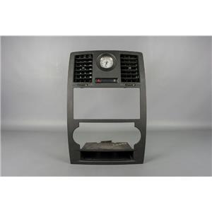 2005-2007 Chrysler 300 Radio Climate Combo Trim Bezel For NAV w/ Clock & Vents
