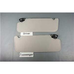 1998-2011 Ford Ranger Sun Visor Set with Straps, Plastic Mounts and No Mirrors