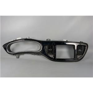 2013 2014 2015 Dodge Dart Dash Trim Bezel with Vents and Silver Trim