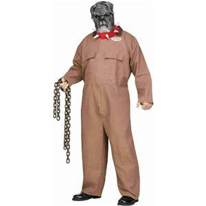 Fun World Men's Junk Yard Guard Dog Butch Plus Size Costume & Mask up to 300 lbs
