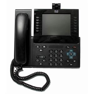 Cisco CP-9971-C-CAM-K9 Unified IP Phone 6 Line Color Touchscreen USB Camera SIP