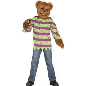 Fun World Brown Killer Bear Child Costume Medium 8-10