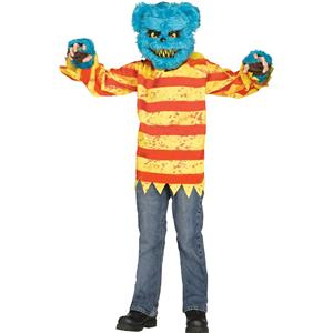 Fun World Blue Killer Bear Child Costume Medium 8-10