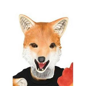 Fun World Latex Fox Adult Animal Mask
