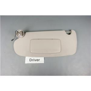 2002-2008 Dodge Ram 1500 Driver Side Sun Visor with Lighted Mirror Adjust Bar