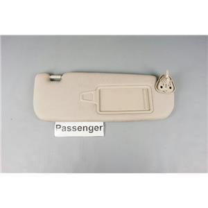 2011-2014 Kia Optima Passenger Side Sun Visor Covered Mirror Adjust Bar