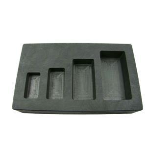 1-2-5-10 oz High Density Graphite Gold Bar Mold 4-Cavities-Silver Copper Scrap