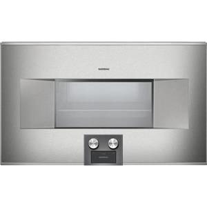 "Gaggenau 400 Series 30"" 1.7 cu.ft. Self-Cleaning Combi-Steam Oven BS485611 EXLNT"
