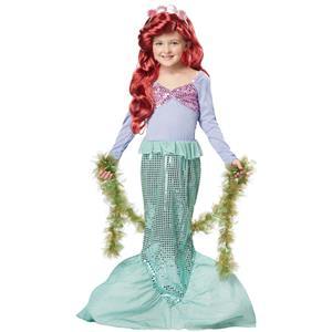California Costumes Pretty Little Mermaid Girl's Child Costume Size XS 4-6