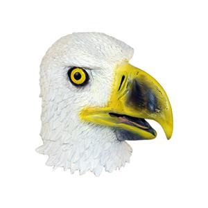 Fun World Latex Bald Eagle White Bird Adult Fantasy Animal Mask
