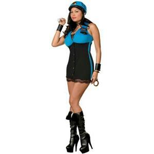 Dreamgirl Women's Detective Terri Gation Sexy Cop Plus Adult Costume Size 1X/2X