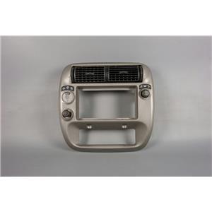 95-01 Explorer 01-04 Sport Trac Center Dash Radio Bezel w/ Rear Window Control