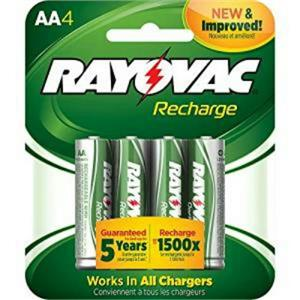 Rayovac LD715-40P Rechageable Battery  AA  NiMH 1400 mAh