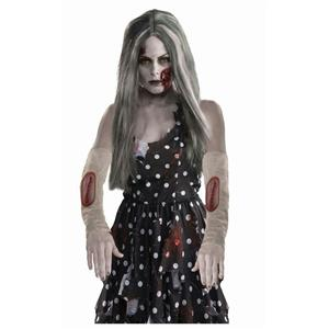 Zombie Arm Sleeve Stitch Wound Costume Accessory