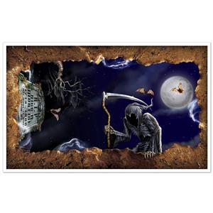 Open Grave Insta-View Halloween Decoration