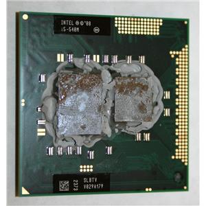 Intel SLBTV Core i5 540M 2.53Ghz 1st Gen BGA1288 FCPGA988 Socket Processor CPU