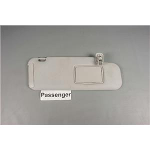 2007-2012 Mazda CX7 Passenger Side Sun Visor with Covered Mirror Extension Panel