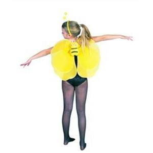 """21"""" x 17"""" Bee Wings with Antenna Child Accessory"""