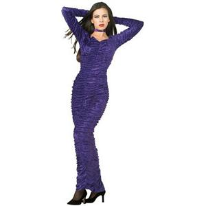 Purple Gothic Coffin Queen Dress and Choker Size Teen Young Adult Small 2-6
